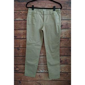 Old Navy Pixie Khaki Crop Pants SZ 4